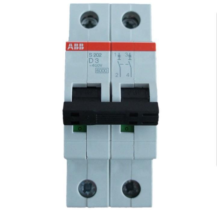 供应ABB微型断路器S202-C16空气开关2P16A现货特价