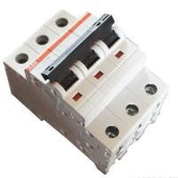 供应ABB微型断路器S203-C25空气开关3P25A现货特价