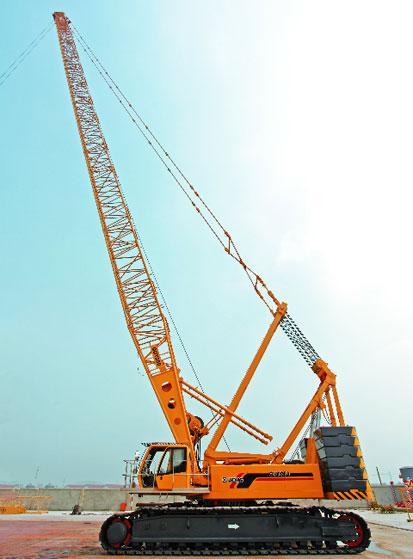 吊车出租供应商 生产广西280吨 履带吊 车出租品