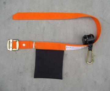 供应 欧美缓冲式双钩双绳安全带, 缓冲双绳大挂钩安全带、悬挂双背安全图片