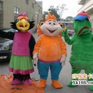卡通动物服装卡通人偶表演道具服装图片