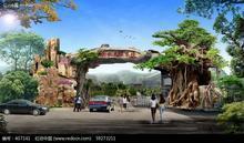 供应生态园景观/生态餐厅/生态浴场/生态酒楼/假山工程/生态园大门
