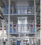 三层共挤吹膜机3层复合吹膜机图片