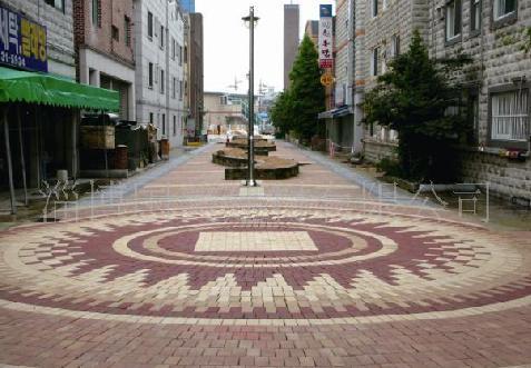 人行道砖图片 人行道砖样板图 淄博人行道砖 淄博 高清图片