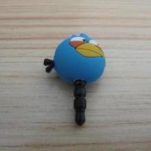 手机耳机孔防尘塞愤怒的小鸟版防尘塞提供防尘塞批发