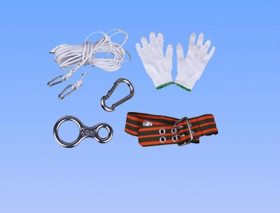 供应家庭消防绳逃生绳,安全绳套装火灾逃生防火救援绳 救生绳索缓降器