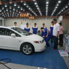 供应洗车房玻璃钢格栅的切割及安装图片