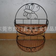 供应植物编织品 编织置物架
