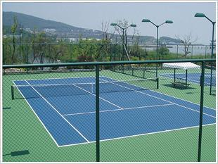 羽毛球场围网网球场围网,球场围网图片