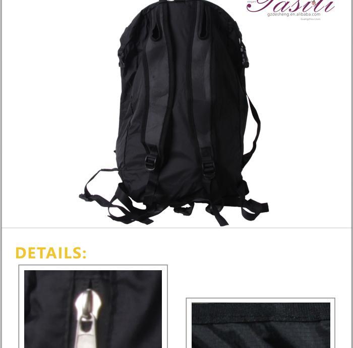背包图片|背包样板图|广州新款便捷折叠背包-广州
