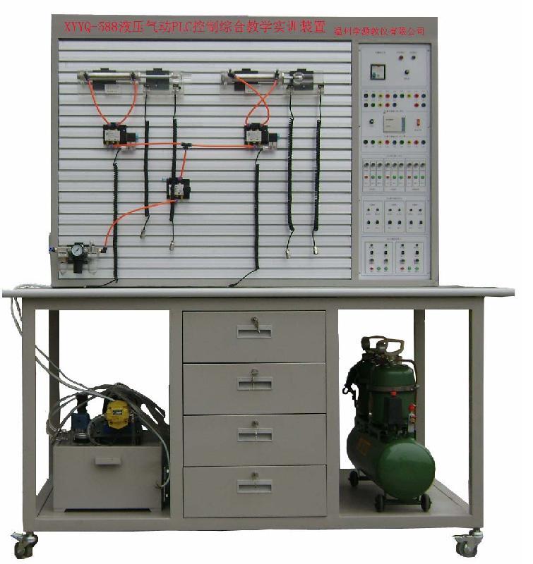 供应透明液压与气压plc综合实训设备图片