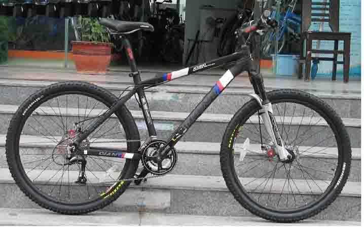 捷安特09款atx830图片自行车板材v图片山地航空箱图片