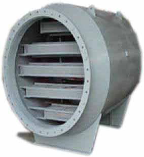 罗茨风机消声器图片