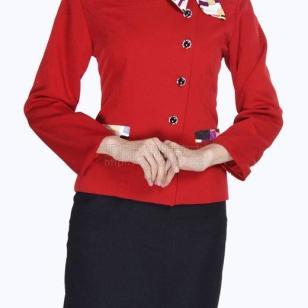 2012最新工作服款式图片