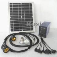 10W小型太阳能发电系统图片
