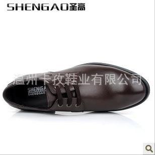 ShenGao-圣高正装商务系带皮鞋图片