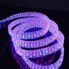 供应LED彩虹管扁四线