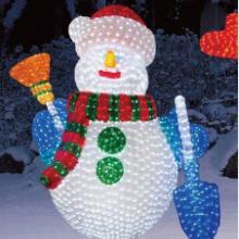 供应LED雪人造型灯/滴胶雪人/雪人灯/节批发