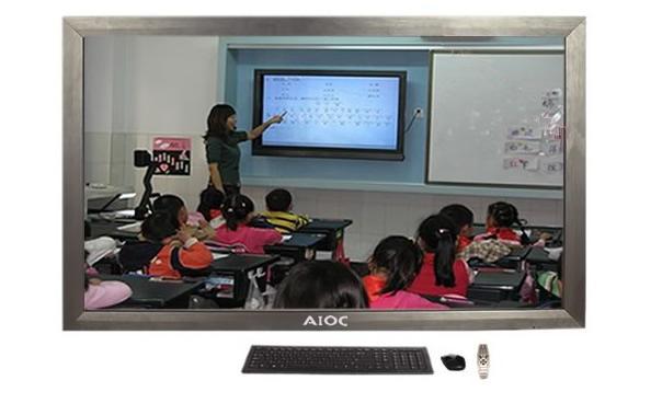 多媒体教学一体机_幼儿园专用55寸多媒体教学一体机图片