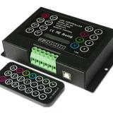供应LED七彩控制器 RGB控制器 LED全彩调光器