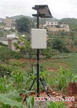 供应将电充入蓄电池的墒情数据接收系统