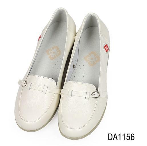 供应1156爆款真皮坡跟护士鞋百搭清新女鞋 孕妇鞋子秋冬妈妈鞋单鞋
