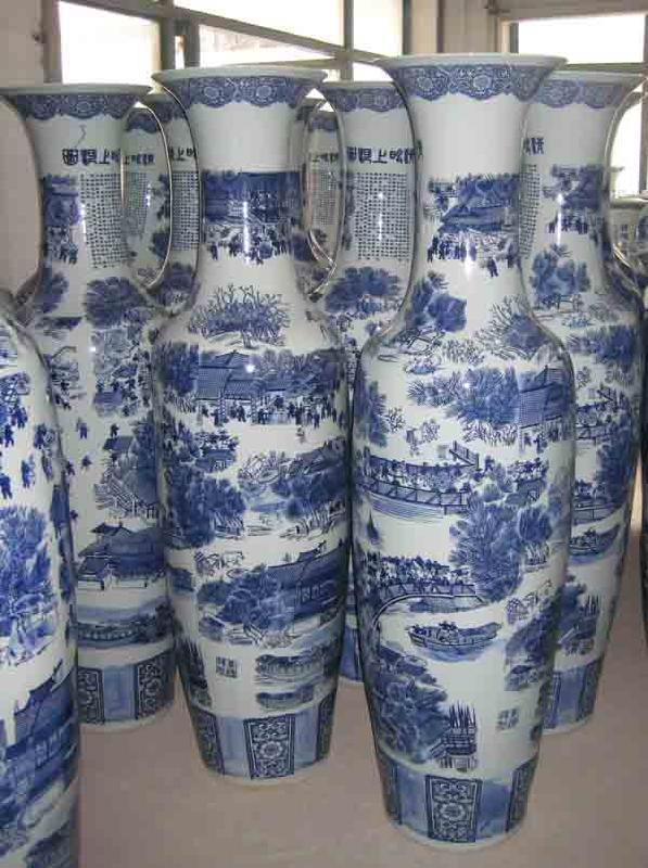 陶瓷花瓶图片 陶瓷花瓶样板图 景德镇鑫腾陶瓷花瓶大花瓶 ...