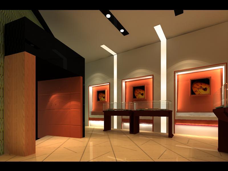 供应成都展览专卖店展厅设计公司图片