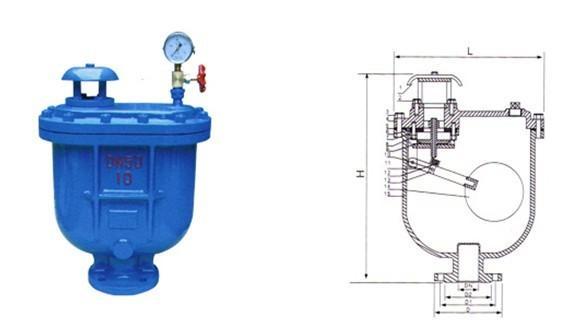 供应carx污水复合式排气阀图片