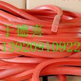 供应天津红色硅胶发泡条厂家,天津红色硅胶模框发泡条制造商