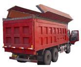 供应渣土车加盖扣盖机青岛减速机蓬盖机