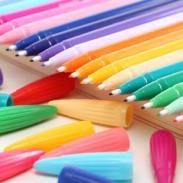 供应24色彩色彩色笔/水性笔
