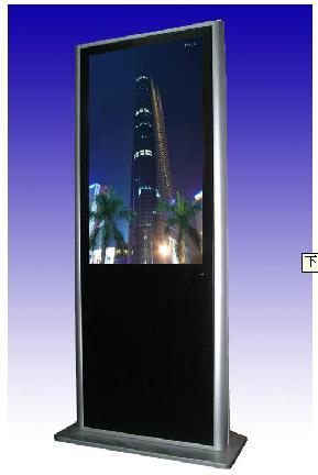 供应AIOC超薄落地式无线上网广告机/可选42/55寸,深圳厂家直销