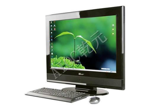供应乾元19寸电脑一体机 电视电脑一体机 电脑一体机价格