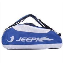 JEEPN剑牌双肩六支装专业羽毛球拍包JP-C602蓝色批发