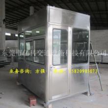 各种收费亭材料不锈钢收费亭、304收费亭量产供应