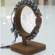 黑胆石时尚玛瑙手链图片