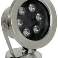 不锈钢水下射灯-小功率LED90珠6W图片