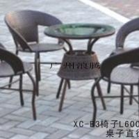 供应编藤桌椅-户外休闲桌-沙滩椅