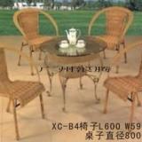 供应休闲桌椅-藤编-沙滩伞