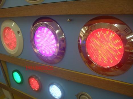 供应塑料桶灯-红兰绿白黄光普光12V