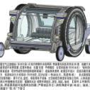 多功能水陆电动车隔绝污染的空间图片