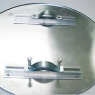 锅铝圆片空白圆牌带背槽含安装配件图片