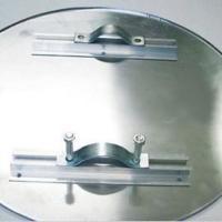 供应锅铝圆片空白圆牌带背槽含安装配件