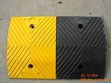 供应优质橡胶减速带减速板减速垄35厘米宽道路缓冲带