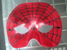 供应PVC蜘蛛侠面具万圣节面具批发舞会面具价格义乌面具厂家批发