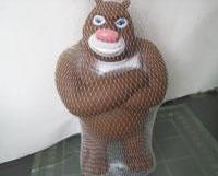 熊出没BB叫玩具惨叫系列玩具熊大