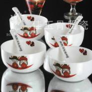 正品唐山佳玉骨质瓷18头餐具甜蜜蜜图片