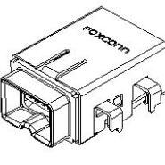 富士康带板IEEE连接器1394图片