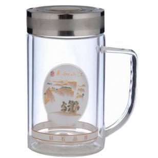 金华斯奈尔玻璃保温杯图片